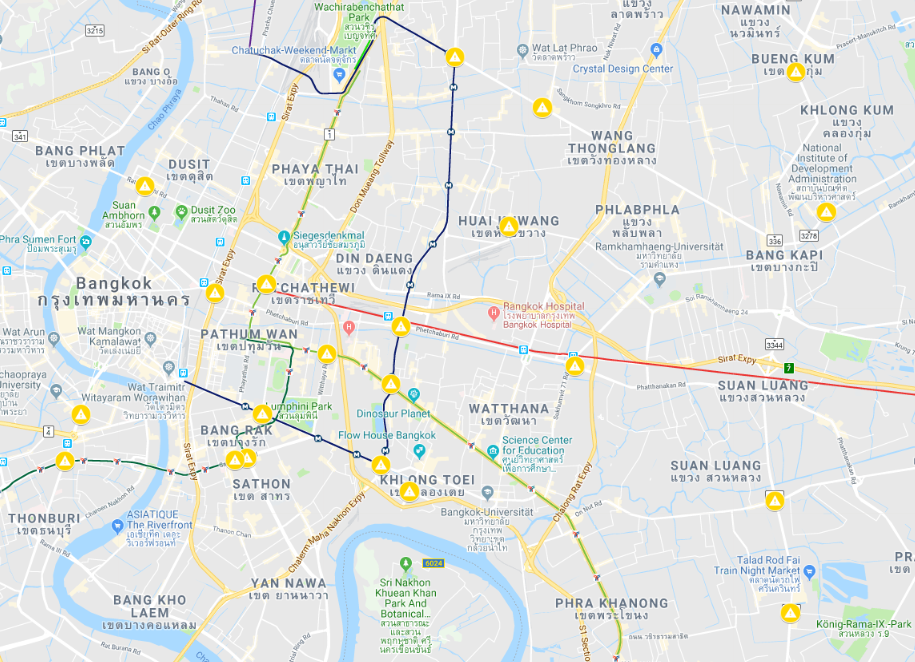 New Traffic cameras to bust red light runners (Map here)